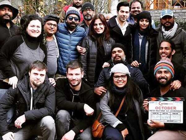 It's a wrap for Varun Dhawan starrer Shoojit Sircar's October
