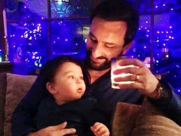 Taimur Ali Khan is welcoming Christmas by listening to carols with parents Saif Ali Khan and Kareena