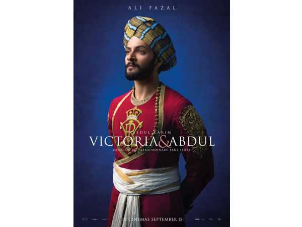 Ali Fazal looks imposing in the latest poster of Victoria And Abdul