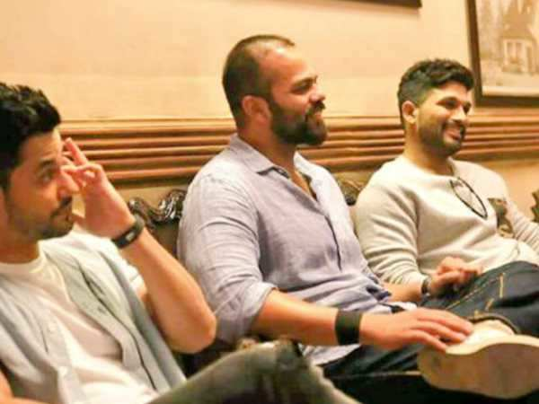 Allu Arjun meets the team of Golmaal Again!