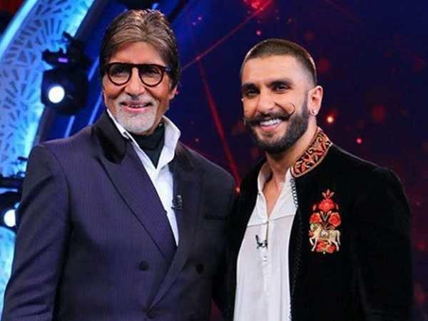 Ranveer Singh responds to Amitabh Bachchan's tweet in the best way ever