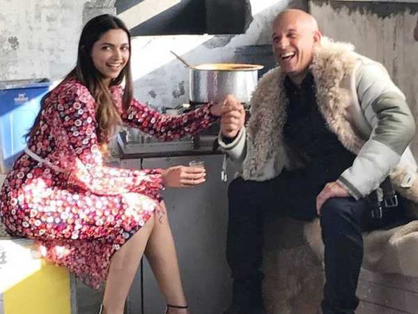 Vin Diesel shares a throwback picture with co-star Deepika Padukone