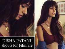 Making Of Disha Patani's Hot Filmfare Photoshoot