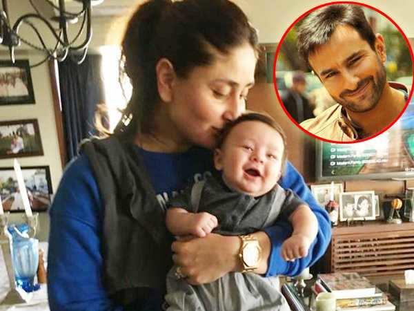 Kareena Kapoor Khan says Saif Ali Khan will take care of Taimur Ali Khan when she's shooting