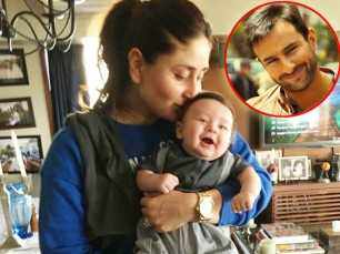 Kareena Kapoor Khan says Saif Ali Khan will take care of Taimur Ali Khan when she's shooting