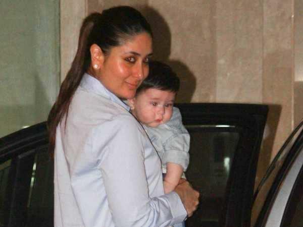 "Kareena Kapoor Khan on son Taimur - ""When I go for a shoot, I will take Taimur along with me"""