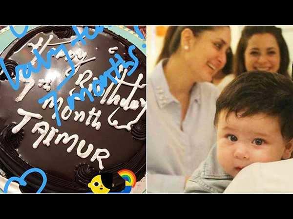 Kareena Kapoor Khan and Saif Ali Khan's lil munchkin Taimur Ali Khan turns 7 months old! We love!