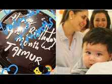 Kareena Kapoor Khan and Saif Ali Khan's lil munchkin Taimur Ali Khan turns 7 months old! We love!