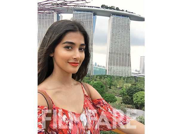 Exclusive: Pooja Hegde shares pictures from her visit to Singapore