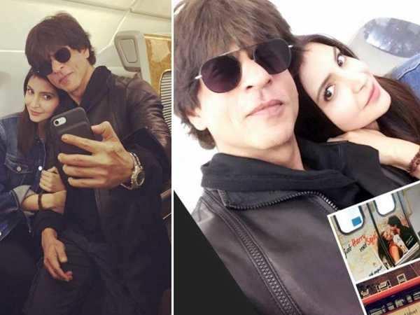 Shah Rukh Khan cannot stop gushing about Anushka Sharma