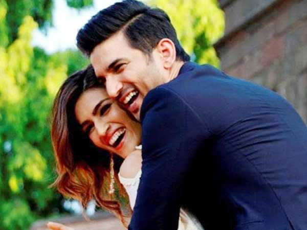 Sweet! Sushant Singh Rajput plans a surprise birthday party for Kriti Sanon