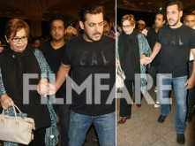 Salman Khan escorts stepmom Helen to the airport