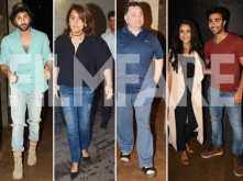 Neetu Kapoor hosts a special screening of Jagga Jasoos