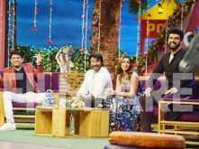 Team Mubarakan - Arjun Kapoor, Anil Kapoor and Ileana D'cruz have a blast at The Kapil Sharma Show
