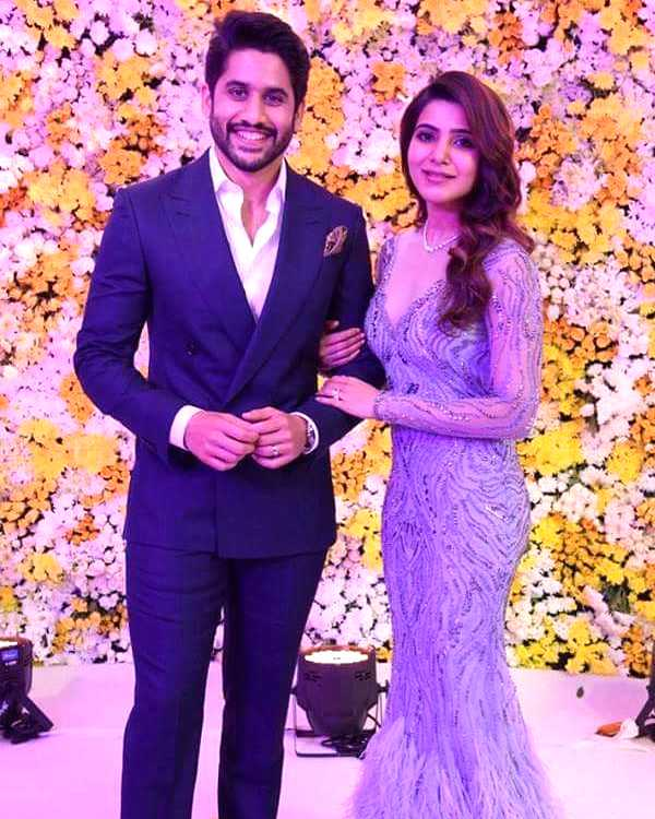 Straight out of a fairytale wedding! All pictures from Samantha – Naga Chaitanya's reception