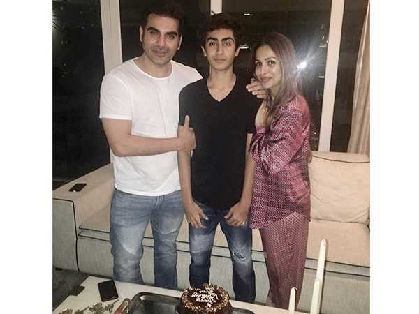 Sweet! Malaika Arora and Arbaaz Khan celebrate son Arhaan's birthday