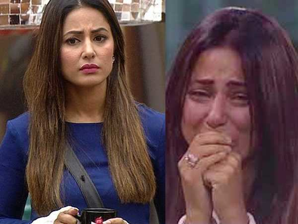 Bigg Boss 11: Hina Khan's father gets upset after her breakdown on the show