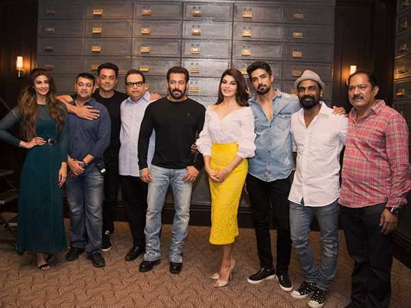 Salman Khan presents to you the Race 3 cast