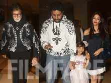 Pictures! Aaradhya Bachchan looked like a princess on her 6th birthday