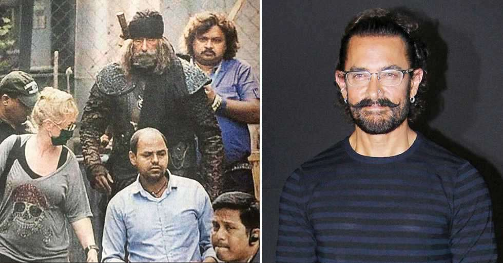 Aamir Khan unhappy with leaked images from the sets of Thugs Of Hindostan