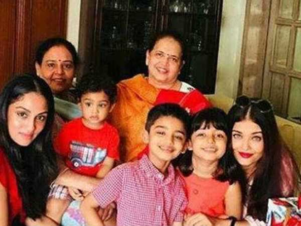 Aishwarya Rai Bachchan attends her nephew's birthday along with her daughter