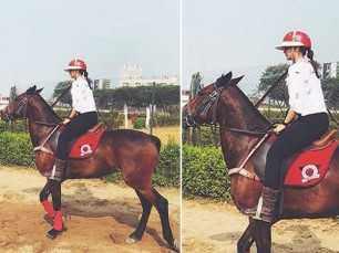 Has Alia Bhatt started taking horse riding lessons for Brahmastra?