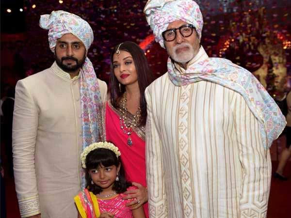These pictures of Bachchans from a family wedding are beyond stunning