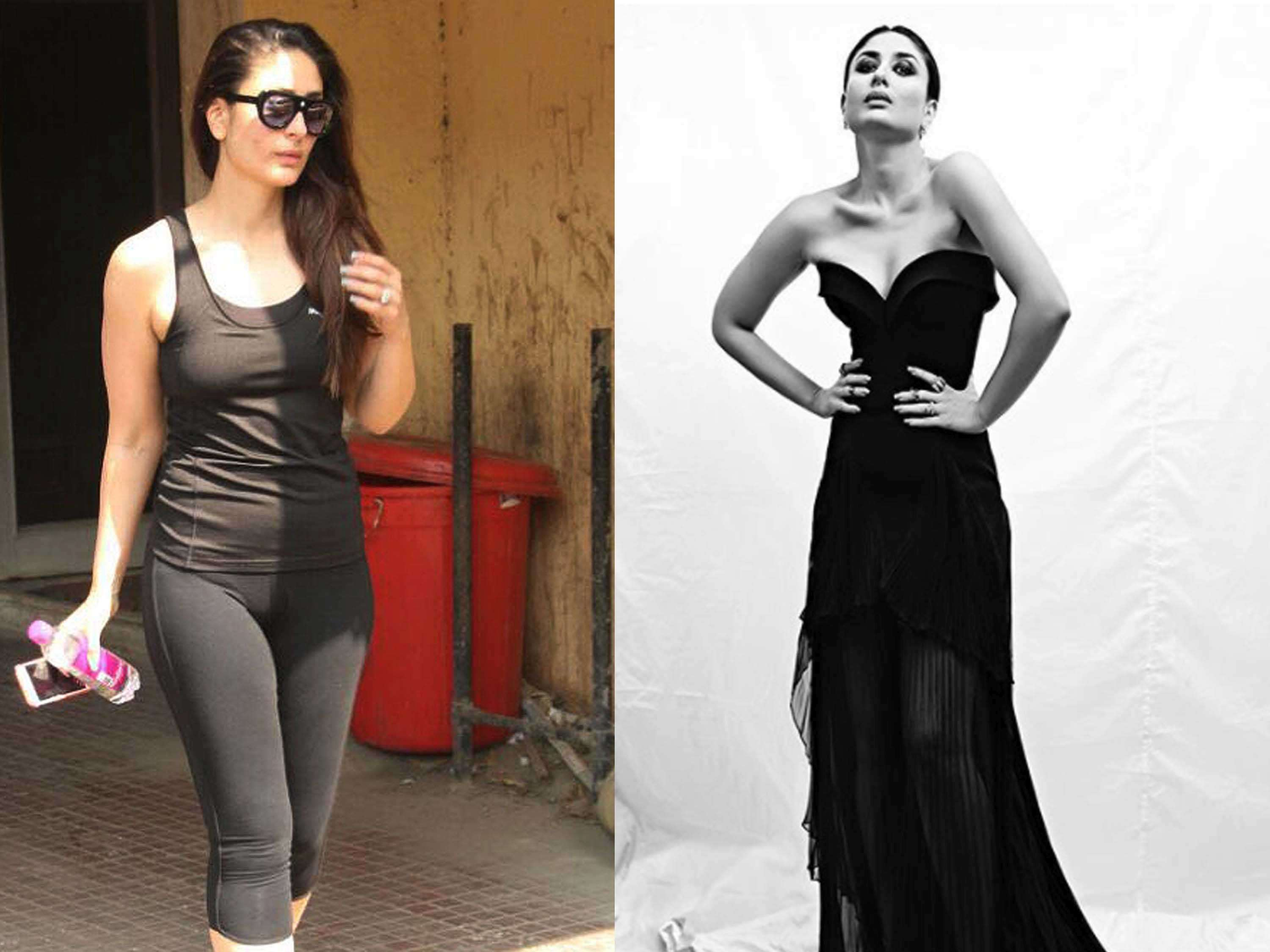 67362ee72b7 Kareena Kapoor Khan s 50 shades of black