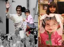 So cute! Amitabh Bachchan just shared an adorable picture of birthday girl Aaradhya