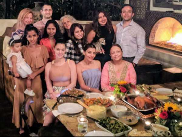 Inside Piryanka Chopra's Thanksgiving party