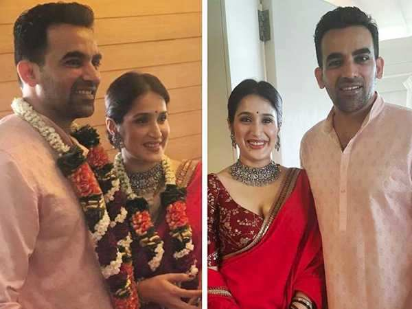 First Photos: Zaheer Khan and Sagarika Ghatge are officially a couple now