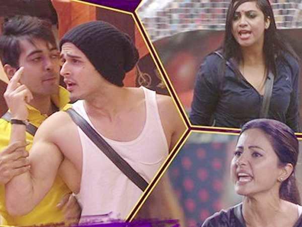 Bigg Boss 11: Twitterati blasts Hina Khan and Priyank Sharma after their fight with Arshi Khan