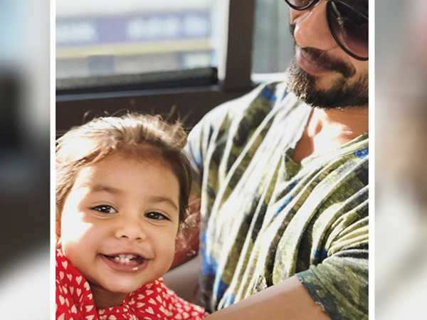 This picture of Shahid Kapoor and his daughter Misha is full of love