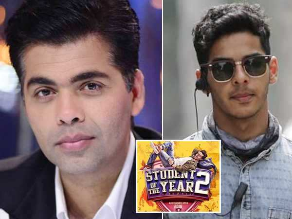 Karan Johar rubbishes rumors of Ishaan Khatter starring in Student of the Year 2