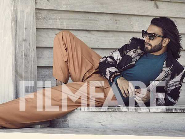 Exclusive! Ranveer Singh goes all out in his latest Filmfare interview
