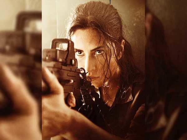 Katrina Kaif looks fierce in the new Tiger Zinda Hai still