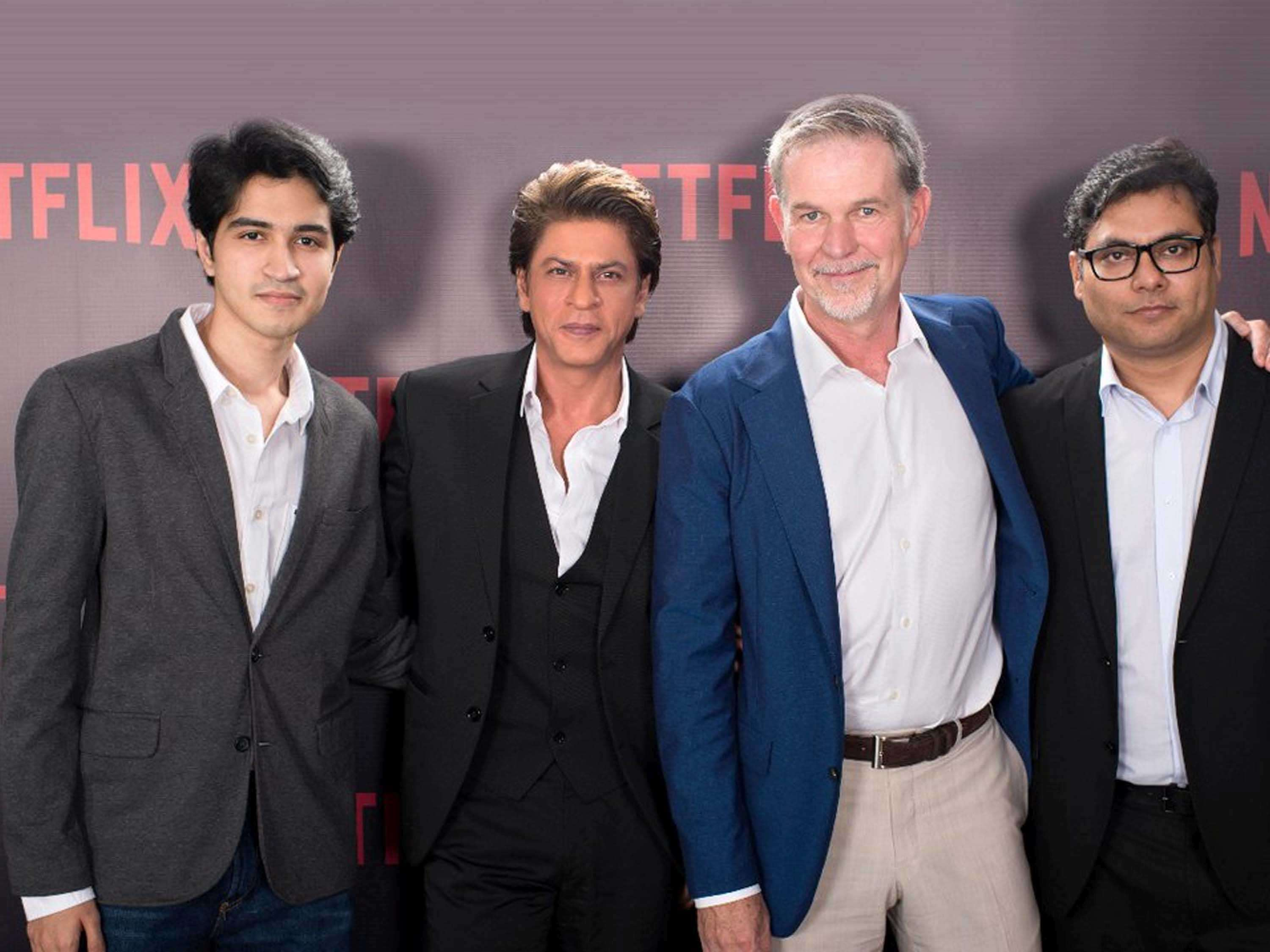 Shah Rukh Khan and Netflix collab for the adaptation of The Bard of Blood