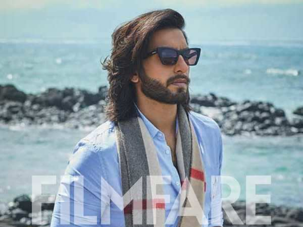 Ranveer Singh shines on the latest cover of Filmfare