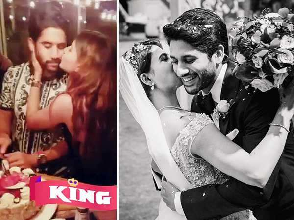 Video Alert! Samantha Ruth Prabhu gives a special kiss to hubby Naga Chaitanya on his birthday