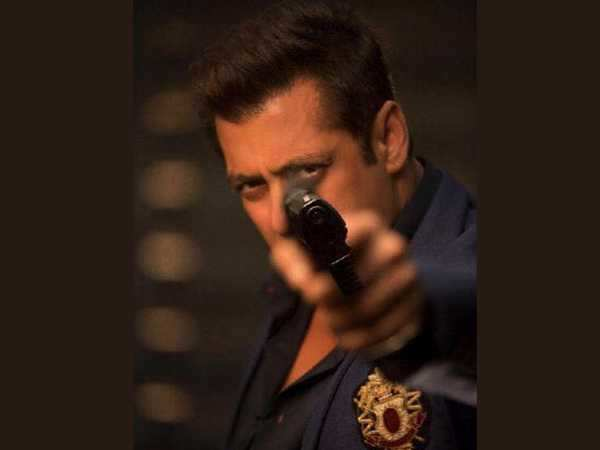 Salman Khan plays with a gun in his first look from Race 3