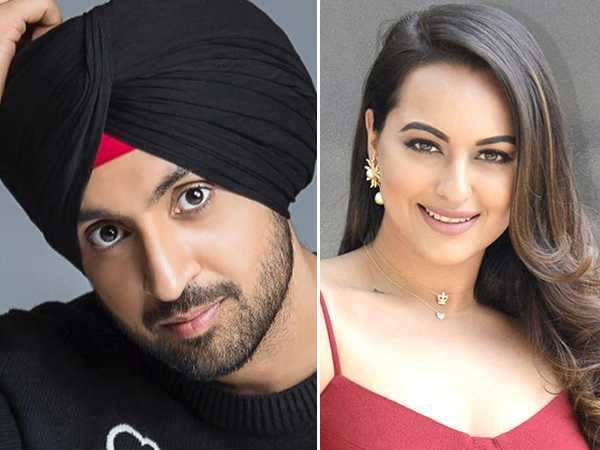 Diljit Dosanjh and Sonakshi Sinha to come together for a film