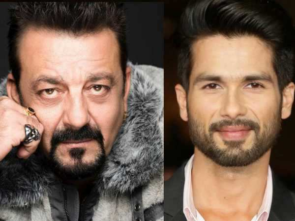 It's a clash between Sanjay Dutt and Shahid Kapoor