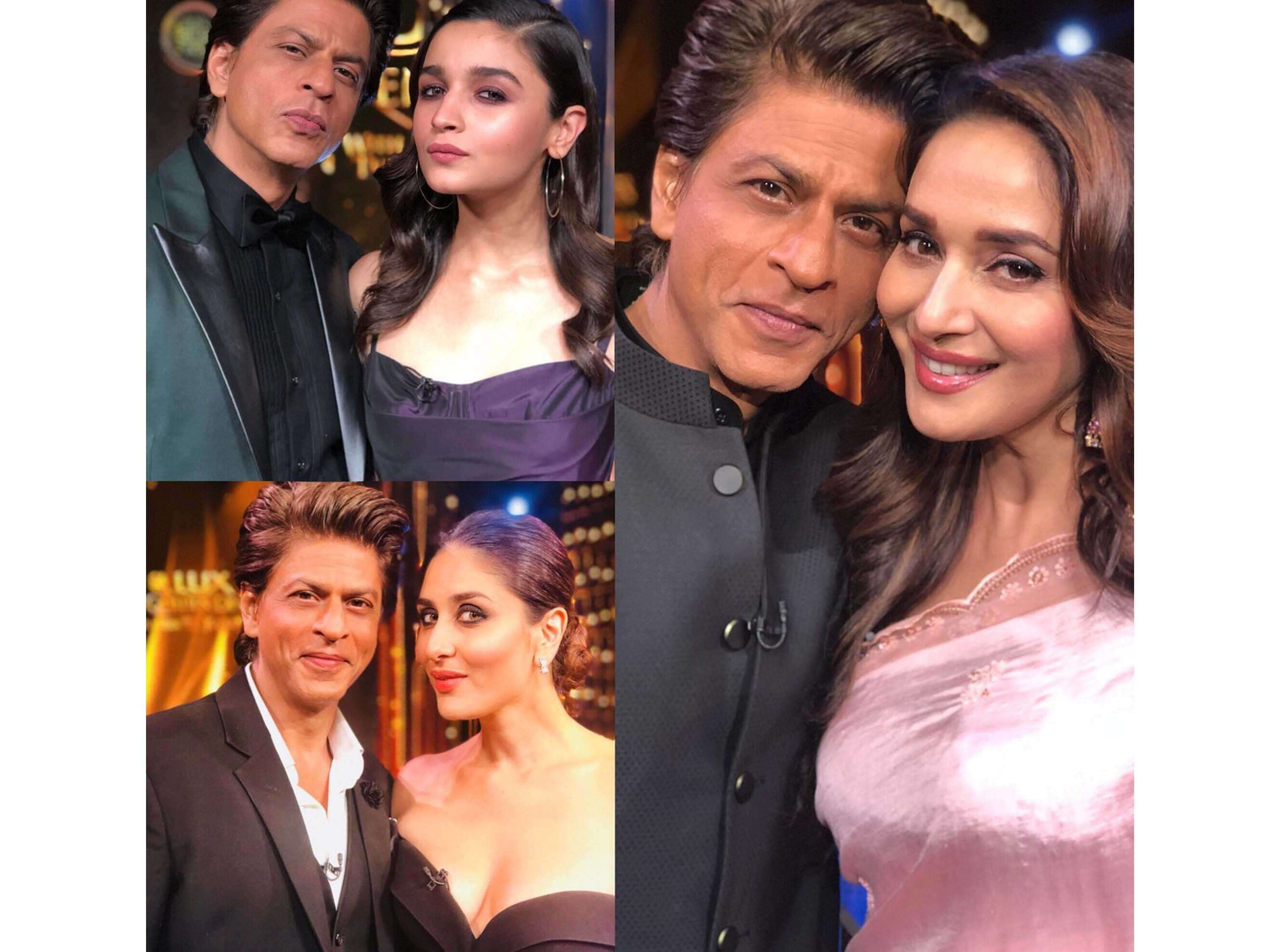 Shah Rukh Khan has something special to say to Alia Bhatt, Kareena Kapoor Khan and Madhuri Dixit Nen