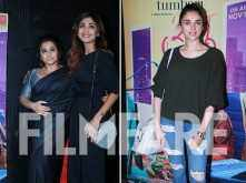 Shilpa Shetty Kundra, Aditi Rao Hydari and other stars attend Tumhari Sulu's special screening