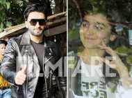 Photos: Ranveer Singh and Alia Bhatt catch up for Gully Boy at Zoya Akhtar's residence