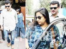 Sweet! Vidya Balan steps out for a lunch date with hubby Siddharth Roy Kapur