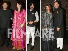Sachin Tendulkar, Harbhajan Singh & other stars at Zaheer Khan - Sagarika Ghatge's wedding reception