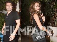 Pictures! Arbaaz Khan and Amrita Arora bond over dinner