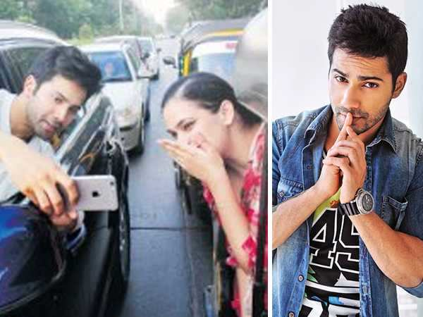 Varun Dhawan apologises to Mumbai Police after having a Challan issued against him