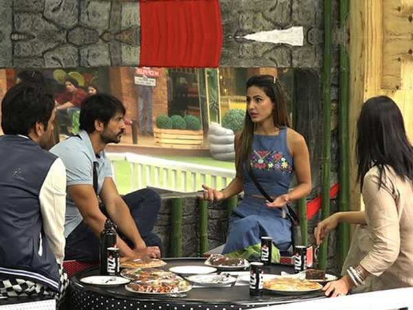 Bigg Boss 11: Vikas Gupta, Arshi Khan & Hiten Tejwani plot against Hina Khan in the nominations task